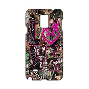 Autumn branch pink love Browning 3D Phone For SamSung Galaxy S4 Mini Case Cover