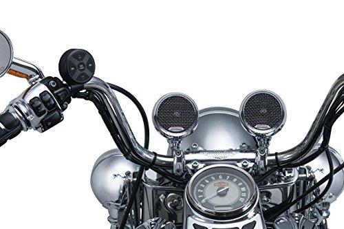 Kuryakyn RoadThunder® Speaker Pods and Bluetooth® Audio Controller by MTX® (Chrome) ()