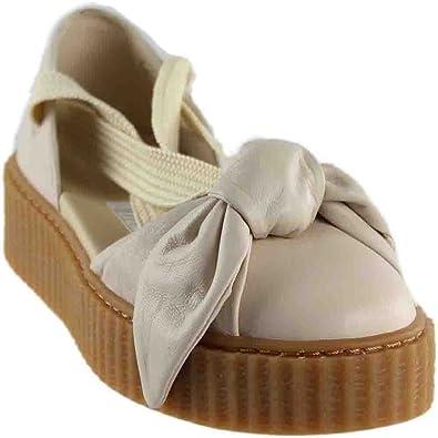 promo code ee8fc 655e7 Puma Womens Creeper Bandana Sandal Pink Size: 8.5 UK: Amazon ...