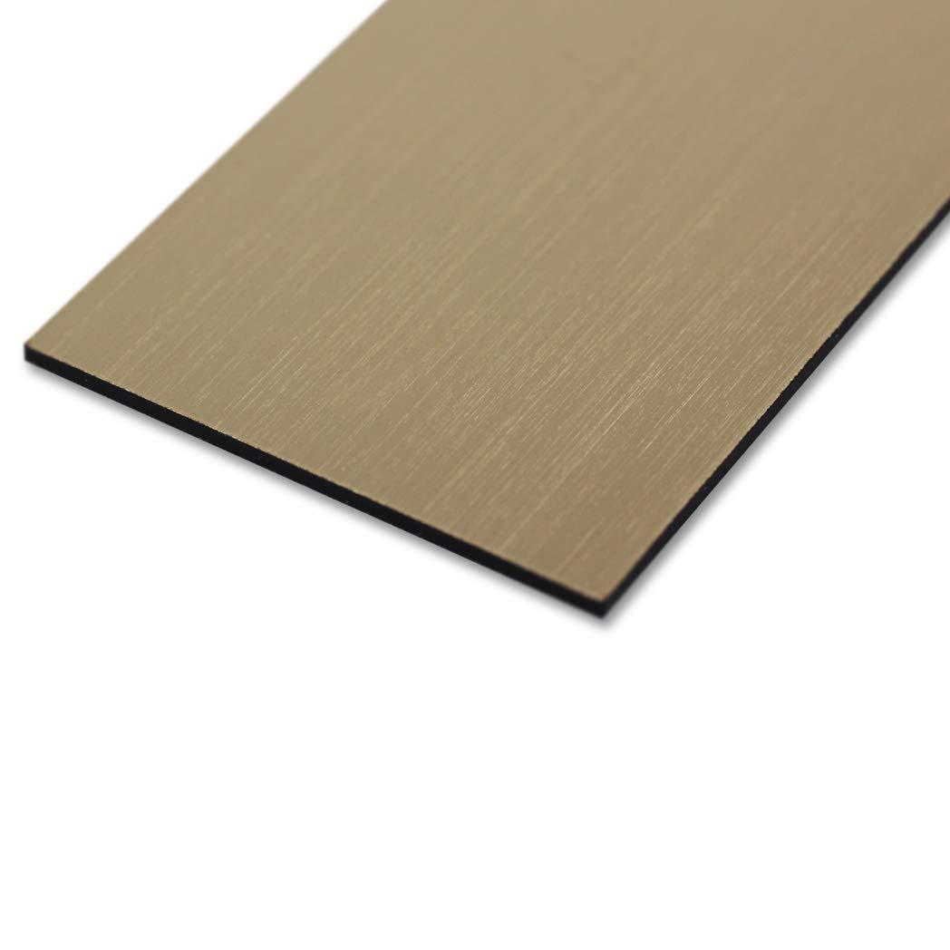 60 x 15 mm Gravurschild Klingelschild mit pers/önlicher Gravur T/ürschild rechteckig hochwertiges T/ürschild aus Kunststoff transparent Namensschild