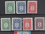 China Stamps - 1944 , Sc J80-6 , complete set, Postal Due Stamps - NGAI, Mint, F-VF