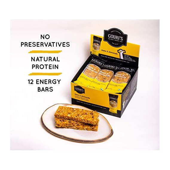 Gouri's Goodies - Oats and Almonds Energy Bar