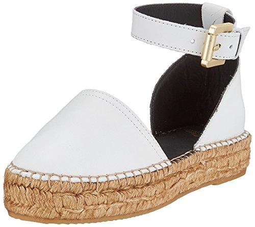 para Sandalias Blanco con Wayfarer Mujer White RepubliQ Cerrada Punta 17 Sandal Royal Wht xT8BS8