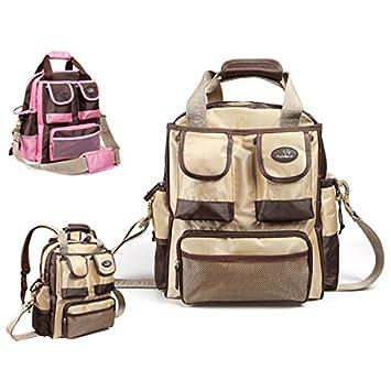 Amazon.com : Waterproof nylon baby diaper backpack set ...