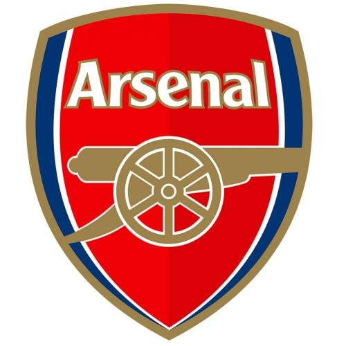 Arsenal F.C.. Large Crest Sticker official licensed product (Crest Sticker)