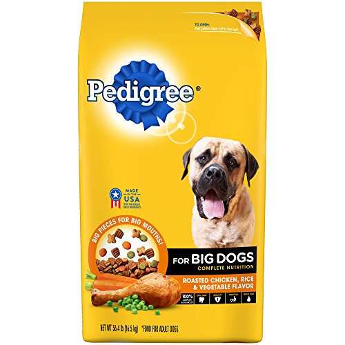 pedigree-for-big-dogs-adult-complete-nutrition-roasted-chicken-rice-vegetable-dry-dog-food-364-pound