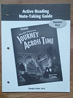 world history journey across time active reading note taking guide rh amazon com active reading note taking guide answer key science notebook active reading note-taking guide answers grade 6