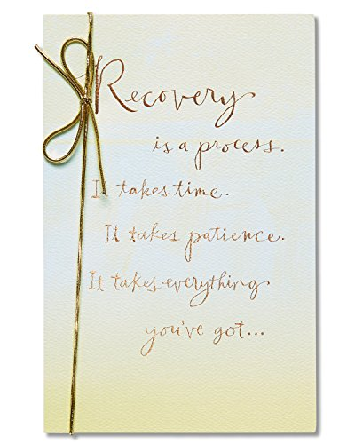 American Greetings Recovery Get Well Card with Foil - Get Well Card
