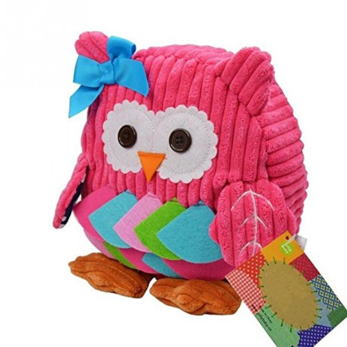 JD Million shop new Cute Cartoon Soft Owl Monkey Animals Children Backpack For Baby School Bag For Girl Boy School Bag mochilas infantis