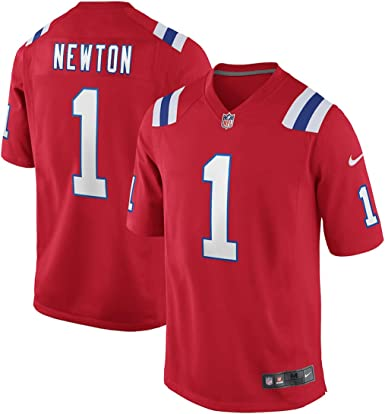 NFL New England Patriots Cam Newton #1 Youth Boys (8-20) Alternate Red Jersey