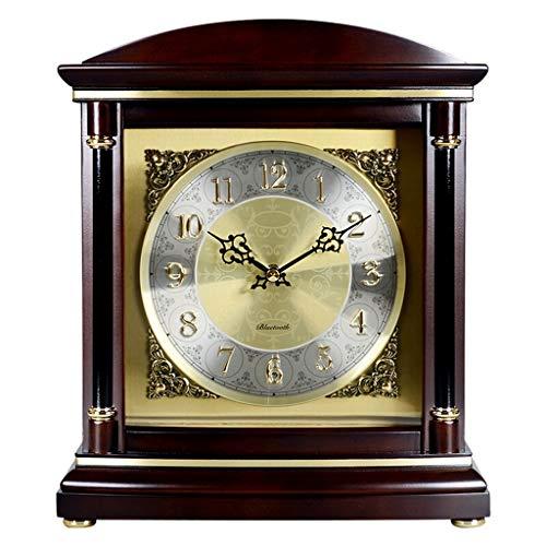 ^Relojes de mesa Mesa Reloj Sala de estar Decoración Dormitorio Sin tictac Operado con batería