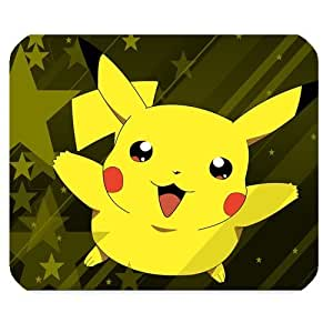 Mystic Zone Personalized Pokemon Pikachu Rectangle Mouse Pad (Black) by mcsharks