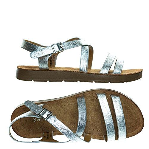 03 Silver Women Sandal - 2