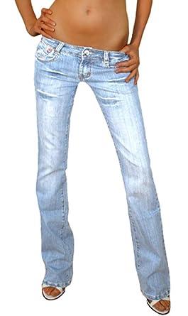 jean femme taille basse