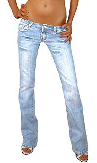 5b6d7ebc9 bestyledberlin ladies low rise jeans women s jeans j37a: Amazon.co.uk:  Clothing