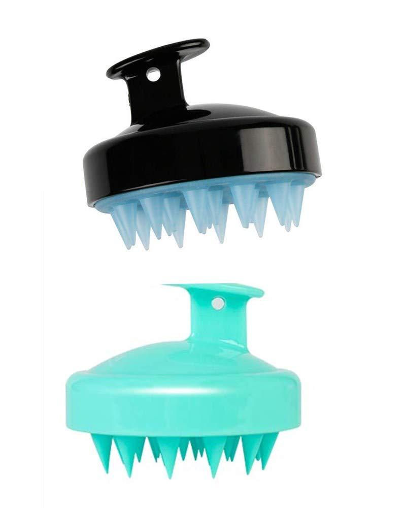 Hair Scalp Massager Shampoo BrushHead Scalp Massager Scrubber Silicone Scalp Care Brush