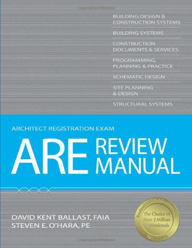 ARE Review Manual (Architect Registration Exam)
