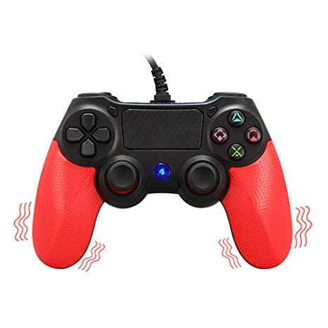 ps4 wired controller for playstation 4, movone professional usb ps4 wired  gamepad for playstation 4