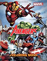 MARVEL Avengers Coloring Book: Coloring Book For