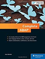 Complete ABAP: The Comprehensive Guide to ABAP 7.5 Front Cover