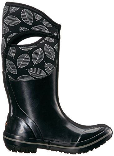 Leafy Boot Women's Black Plimsoll Bogs Multi Snow Black Tall 1qZzOwy6
