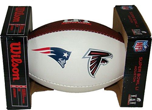 Wilson Atlanta Falcons Logo Football (Super Bowl LI 51 Composite Autograph Dueling Mini Football)
