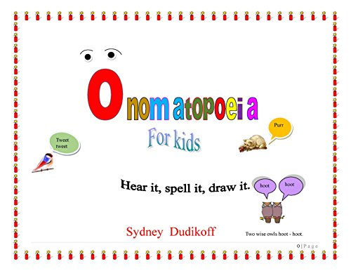 Exploring Poetry With Onomatopoeia Activities Happy Strong Home