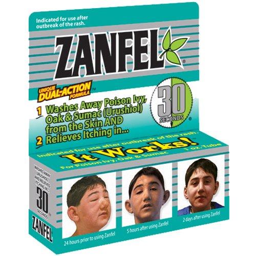 Первая помощь при укусах и ожогах (Zanfel Poison Ivy, Oak and Sumac Wash)