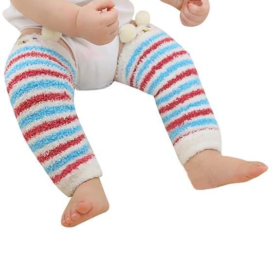 BHYDRY Otoño Invierno Espesar Medias para niños Baby Kneepad Calcetines Moda Cálido: Amazon.es: Ropa y accesorios