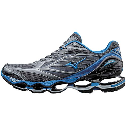 Pictures of Mizuno Men's Wave Prophecy 6 Running Shoes White 1