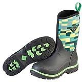 Muck Boot Kid's Element Waterproof Snow Boots Black Neoprene Rubber Fleece (7)