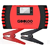 GOOLOO 800A Peak 18000mAh Car Jump Starter (Up to 7.0L Gas or 5.5L Diesel Engine)