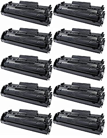 10 PACK Remanufactured HQ Black Toner Cartridge Compatible with CANON 104 CRG104 FX9 FX10 & HP Q2612A 12A- D420 D480 MF4150 MF4270 MF4350 MF4370 MF4690 L90. HP 1018 1020 M1120 3015 3020 3030 3050 3055