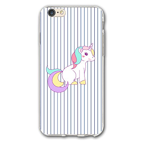 Case For Iphone 6/6s Plus Free Unicorn Clipart Slim Fit Shell Full Protective Anti-Scratch Resistant Cover Apple IPhone 6/6s Plus (Free Clipart Silhouette)