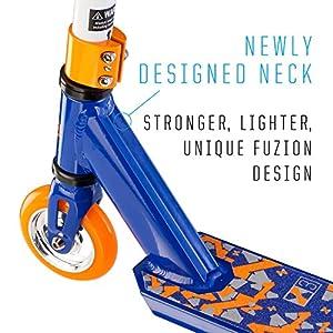 Fuzion X-3 Pro Scooter (2018 Orange & Blue)