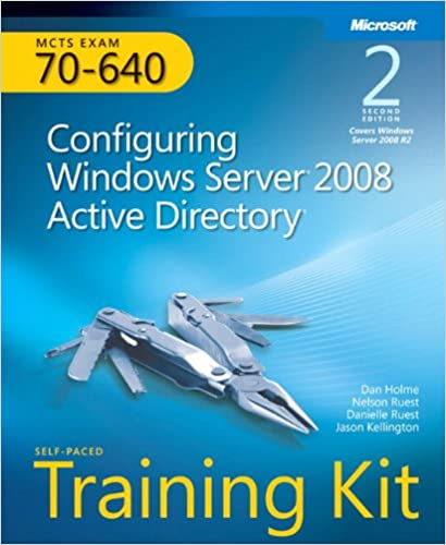 Configuring windows server 2008 active directory training kit