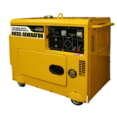 Pro-Series GENSD7, 5500 Running Watts/7000 Starting Watts, Diesel Powered Portable Generator (Diesel Powered Generator)