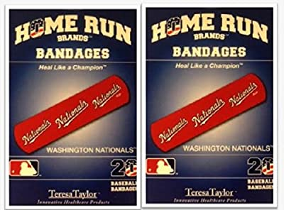 Washington Nationals Bandages x 2 box (total 40 pcs)