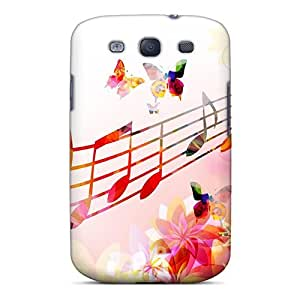 Durable Case For The Galaxy S3- Eco-friendly Retail Packaging(melody Of Butterfly Wings)