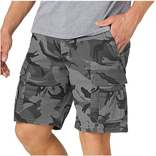 Korte werkbroek voor heren, vintage cargobroek, shorts, camouflage, zomerbroek, vrijetijdsbroek, sportbroek, regular…
