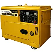 Pro-Series GENSD7, 5500 Running Watts/7000 Starting Watts, Diesel Powered Portable Generator