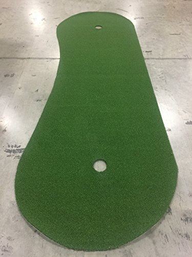 4 Feet x 15 Feet Professional Synthetic Turf Grass Nylon Practice Putting Green