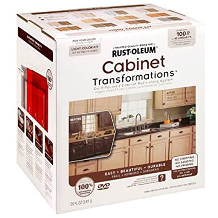 Rust Oleum Cabinet Transformations, 258109 Small Kit, WINTER FOG