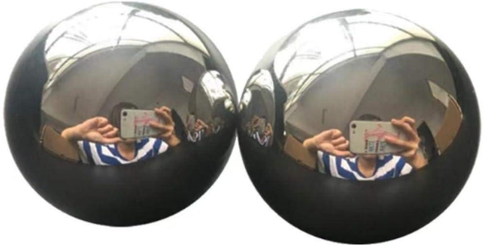 Bola de acero macizo, 20-60 mm, perforada soldable, bola de hierro sólido sin temple, 1 grano-20mm / pieza
