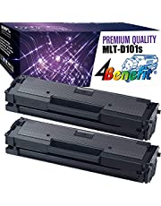 4Benefit Compatible Toner Cartridge Replacement for Samsung MLT-D101S ML-2165W SF-760P SCX-3405FW (Black, 2 pk)