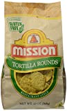 Mission Tortilla Chips, Rounds, 13 oz