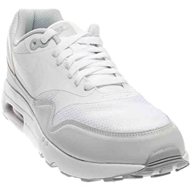 detailed look e8ed9 907ec Nike Air Max 1 Ultra 2.0 Essential White White-Pure Platinum (8 D