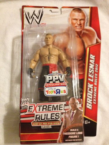 WWE Best of Pay-Per-View Extreme Rules 2012 Exclusive Action Figure Brock Lesnar (Build Theodore Long) by WWE