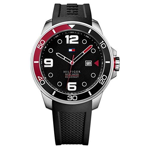 Multifunction Tommy Watch Hilfiger - Tommy Hilfiger Men's 1791153 Analog Display Quartz Black Watch