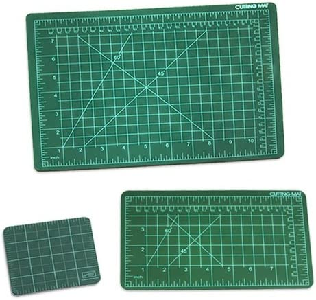 Alvin GBM0812 GBM Series 8 1//2 inches x 11 inches Green//Black Professional Self-Healing Cutting Mat